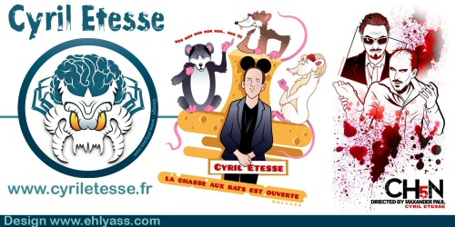 TEE-SHIRTS et MUGS OFFICIELS CYRIL ETESSE